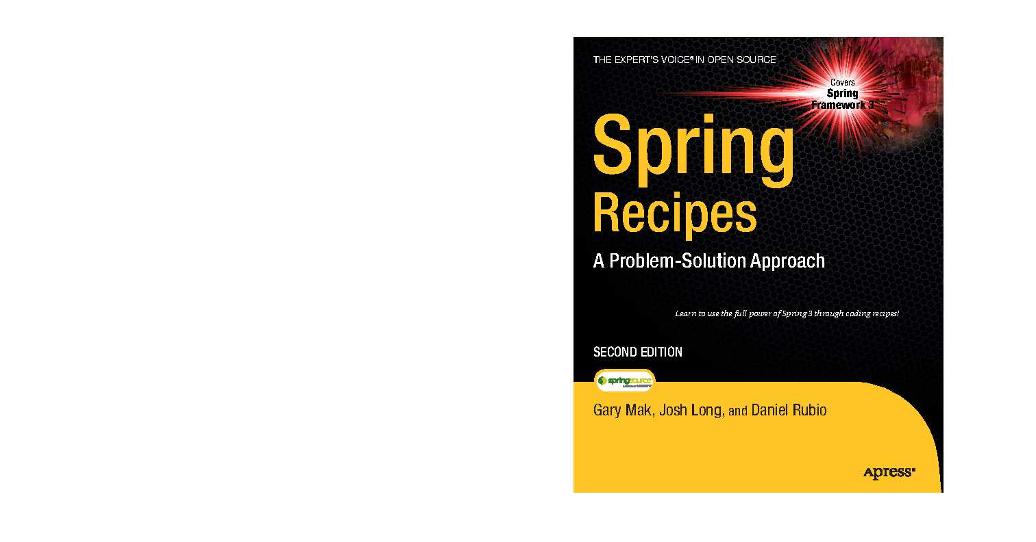 Apress.Spring.Recipes.A.Problem.Solution.Approach.2nd.Edition.Aug.2010.pdf